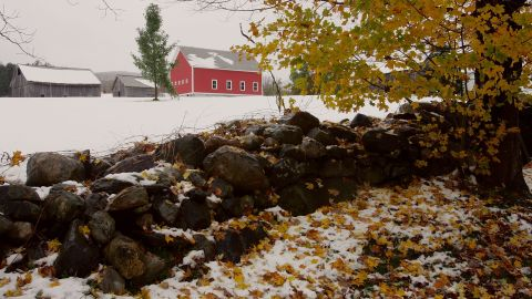 Bad weather in Vermont is usually associated with winter, not tropical storms.