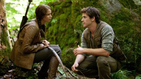 """With the """"Harry Potter"""" and """"Twilight"""" franchises in our rearview, <a href=""""http://marquee.blogs.cnn.com/2012/03/23/avoiding-hunger-games-hysteria-may-the-odds-be-ever-in-your-favor/?iref=allsearch"""">""""The Hunger Games"""" has risen mightily as the next series</a> pulled from young adult books. <a href=""""http://www.cnn.com/2012/03/21/showbiz/movies/hunger-games-novel-film-adaptation/index.html?iref=allsearch"""" target=""""_blank"""">Based on the trilogy by Suzanne Collins</a> and starring the indomitable Jennifer Lawrence as the fearless heroine Katniss Everdeen, <a href=""""http://www.cnn.com/2012/03/22/showbiz/movies/hunger-games-review-rs/index.html?iref=allsearch"""" target=""""_blank"""">the adaptation managed to please both the fans and the industry. </a>"""