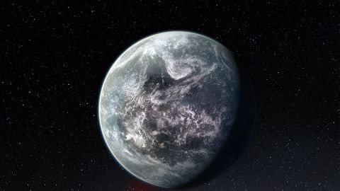 An artist's conception of the exoplanet HD 85512b