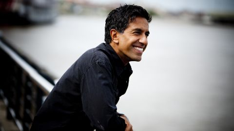 Dr. Sanjay Gupta in the spring of 2010.