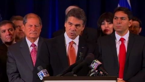 Texas governor and presidential contender Rick Perry criticized Obama's policy on Israel.