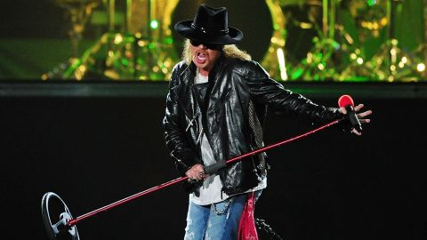 """An induction ceremony """"doesn't appear to be somewhere I'm actually wanted or respected,"""" Axl Rose said in his letter."""