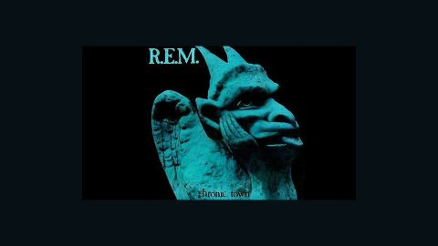 """R.E.M. influenced a generation of American rock bands. After releasing a single on a local label, the band broke on the national college radio scene with """"Chronic Town,"""" a five-song EP. """"This headlong tumble proves them the wittiest and most joyful of the postgarage sound-over-sense bands,"""" wrote Robert Christgau."""