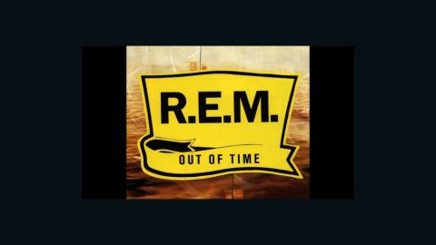 """""""Out of Time,"""" R.E.M.'s first No. 1 album, featured the song """"Losing My Religion,"""" which hit the Billboard Top 5 in 1991."""