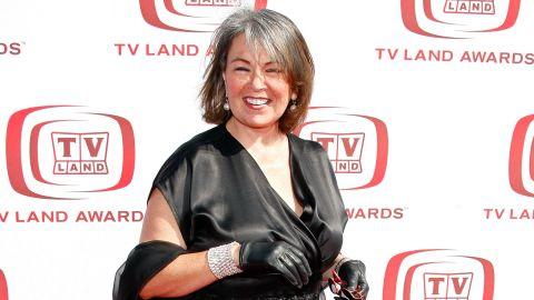Roseanne Barr arrives to the 2008 TV Land Awards