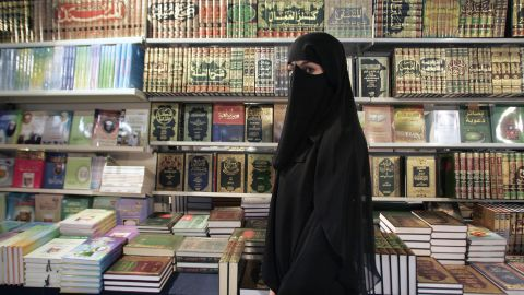 Women in France are banned from wearing burqas in public.