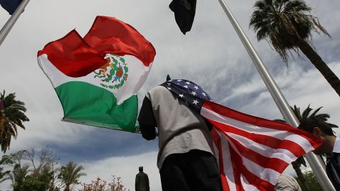 A third-generation Mexican-American, Nick Valencia says duality is reality for millions of  Americans.