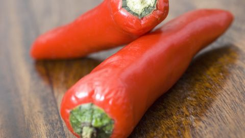 """Between April and August 2008, 1,442 people in 43 states were <a href=""""http://www.cnn.com/2008/HEALTH/conditions/08/28/salmonella/"""">infected with salmonella from Mexico-grown jalapeño and serrano peppers</a>. At least 300 people were hospitalized, and the infection may have contributed to two deaths, according to the CDC. Walmart stores in four states recalled jars of serrano peppers as a result."""