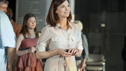 Actress Jeanne Tripplehorn plays an oncologist whose life is shaped by breast cancer.