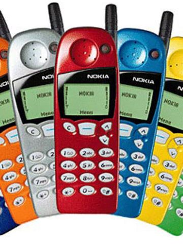 """It seemed like everyone and their mother had a Nokia 5110 in the late 1990s. At the time Nokia was the leading cell phone company in the world; the 5110 was just one of many GSM (global system for mobile) communication devices Nokia produced. The interchangeable, colored covers made the product attractive to a wider audience, but what most people probably remember is that it featured one of the first popular mobile games, """"Snake."""""""