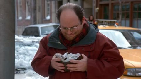 """Google says the first customer for Google Wallet should be George Costanza from the '90s TV show """"Seinfeld."""""""