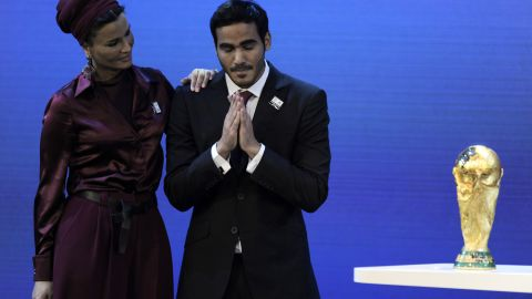 """<a href=""""http://cnn.com/2010/SPORT/football/12/02/football.world.cup.2018.2022/"""">The winning bids for the 2018 and 2022 World Cup finals are announced.</a> Russia wins the bid to host the 2018 tournament. But the big shock came when Blatter announced that Qatar would host the 2022 finals, despite FIFA's bid inspection report stating that hosting the World Cup in June and July would be<a href=""""http://cnn.com/2010/SPORT/football/11/17/football.fifa.world.cup.2018.2022/""""> """"considered as a potential health risk for players, officials, the FIFA family and spectators, and requires precautions to be taken."""" </a>"""