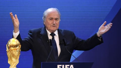 """Despite a last minute attempt by the English FA to postpone the vote -- a proposal which garnered just 17 out of the available 208 votes --<a href=""""http://cnn.com/2011/SPORT/football/06/06/football.fifa.blatter.kissinger/""""> Blatter is re-elected </a>for a fourth term as president of FIFA at the 61st FIFA Congress at Hallenstadion in Zurich. He vows to learn from past mistakes and undertake a reform agenda."""