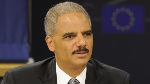 """U.S. Attorney General Eric Holder on GOP criticism of his handling of a controversial gun enforcement operation: """"Such irresponsible and inflammatory rhetoric must be repudiated."""""""