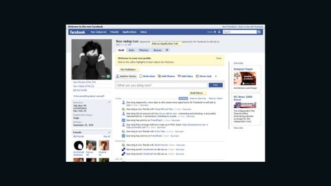 Facebook profile pages were redesigned in 2008 to add five main tabs: Feed, Wall, Info, Photos and Boxes. The new design was, as usual, met with negative comments from users resistant to change. Facebook also debuted its Chat feature that year, allowing real-time instant messaging.