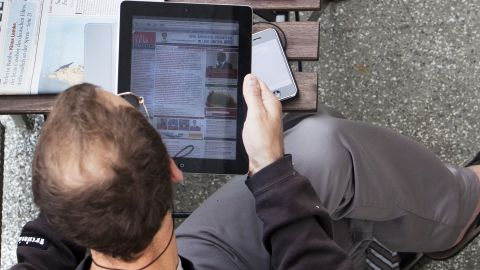 News organizations hope to offset costs with mobile apps, but how likely is that?