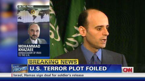 Iranian amb: Terror plot is 'big lie'_00002001