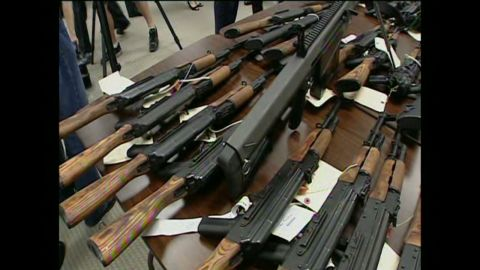 The intent of the operation was to monitor the flow of the weapons to their ultimate destination.