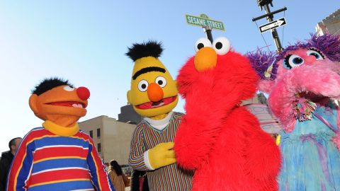 """Hackers commandeered the YouTube page of the """"Sesame Street"""" children's show Sunday, adding pornographic videos."""