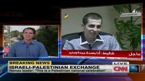 pleitgen israel shalit release_00014017