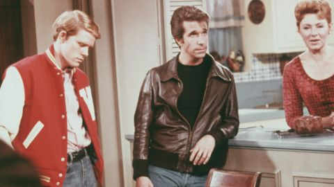 """The hit television show """"Happy Days"""" was on the air from 1974 to 1984."""