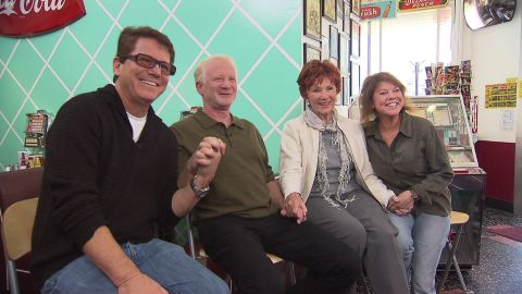 """""""Happy Days"""" stars Anson Williams, Don Most, Marion Ross and Erin Moran have settled a $10 million lawsuit against CBS."""