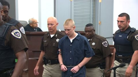 Deryl Dedmon, 19, faces capital murder and hate crime charges for the killing of James Anderson