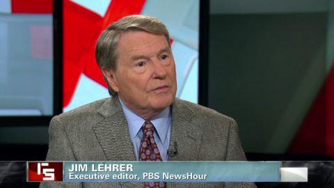 "Veteran journalist Jim Lehrer discusses presidential debates on CNN's ""Reliable Sources."""