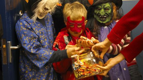 Easy there, kids — there's enough candy for everyone.