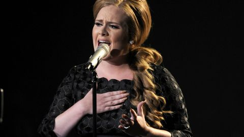 Singer Adele performs onstage during the 2011 MTV Video Music Awards at Nokia Theatre L.A. LIVE on August 28, 2011 in Los Angeles, California. (Photo by Kevin Winter/Getty Images)