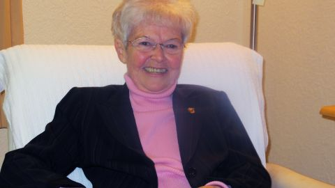 Joy Bricker spent the better part of her adult life in New Hampshire, but the Beltway is where she has felt most at home.
