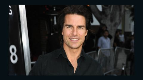 Tom Cruise was not home during the alleged incident.