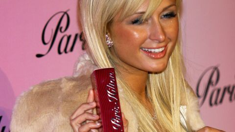 """Hilton launched her own first perfume, """"Paris Hilton,"""" in 2004."""