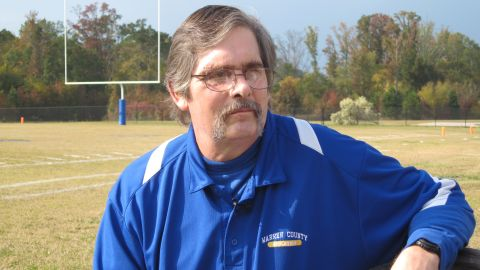 Coach David Daniel was seriously hurt when he tried to break up a fight between his players and members of a rival team.