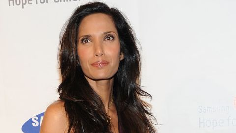 """""""Top Chef"""" host Padma Lakshmi says, """"I don't feel alone at all in parenting my daughter."""""""
