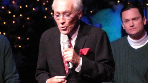 Andy Williams performs Saturday night in Branson, Missouri.