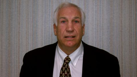 Retired Penn State assistant coach Jerry Sandusky was arrested Saturday and faces sexual child abuse charges.