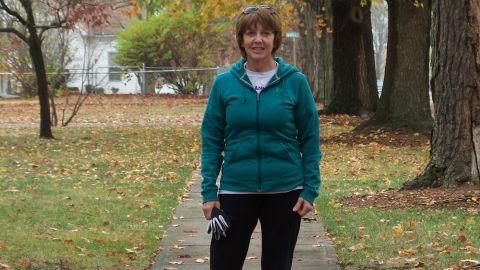 Darla Arni skips fried foods, eats plenty of fruits and vegetables and goes for regular walks.