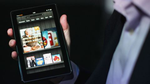 The 7-inch Kindle Fire is easier to slip into a purse or large pocket than the 10-inch iPad.