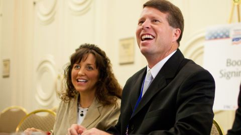 """Michelle and Jim Bob Duggar are the stars of TLC's """"19 Kids and Counting."""""""