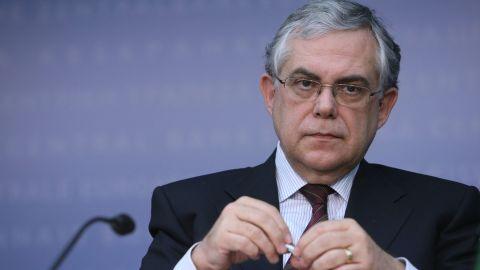Lucas Papademos, a former European Central Bank vice president, has been named prime minister of Greece.