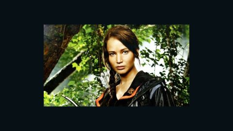 """""""How-to-dress like Katniss"""" web pages, blog posts and articles are being bookmarked and pinned up by girls of all ages."""