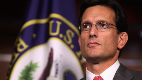 Rep. Eric Cantor says Congress is set to consider a bill that would keep the federal government funded through December 16.