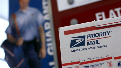 SAN FRANCISCO, CA - JULY 26:  U.S. Postal Services shipping materials are displayed at the Bayview Station on July 26, 2011 in San Francisco, California.  The U.S. Postal Service announced plans to cut up to 3,700 of its 32,000 post offices across the country as they seek ways to cut financial losses as mail volume dwindles. The Bayview Station is one of five in San Francisco that is being reviewed for closure.  (Photo by Justin Sullivan/Getty Images)