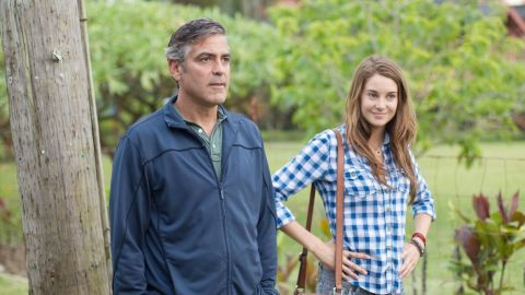 """George Clooney and Shailene Woodley star in """"The Descendants."""""""