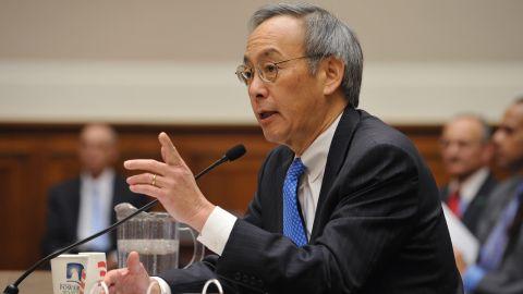 Energy Secretary Steven Chu is resigning from President Obama's cabinet.