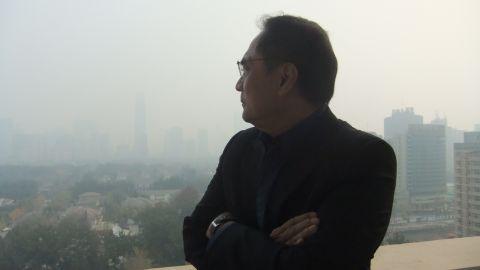 CNN's Beijing Bureau Chief Jaime FlorCruz looks out on Beijing's pollution on November 16.