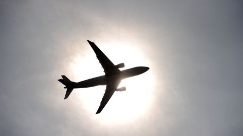 The plane made an emergency landing at New York's LaGuardia Airport with the pilot at the controls.