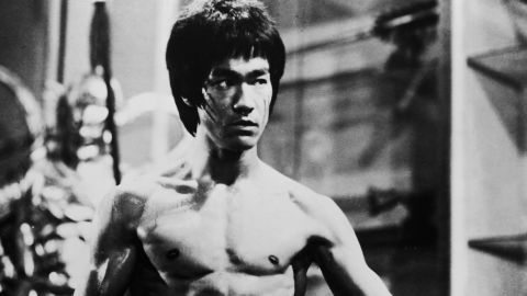 """Actor and martial arts expert Bruce Lee, who was working on dubbing the film """"Enter the Dragon"""" when he died in 1973 of a brain edema, caused by a prescription painkiller."""
