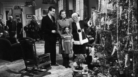"""Wood's first starring role was as a child in """"Miracle on 34th Street"""" in 1947."""